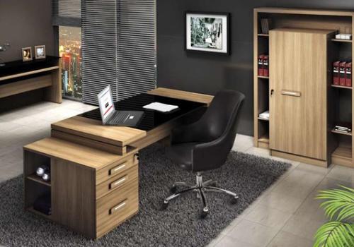 Móveis planejados em MDF para escritório